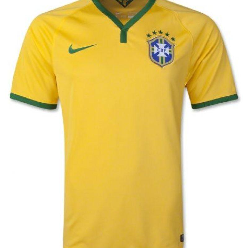 12. Brasil (Nike) Foto:Nike