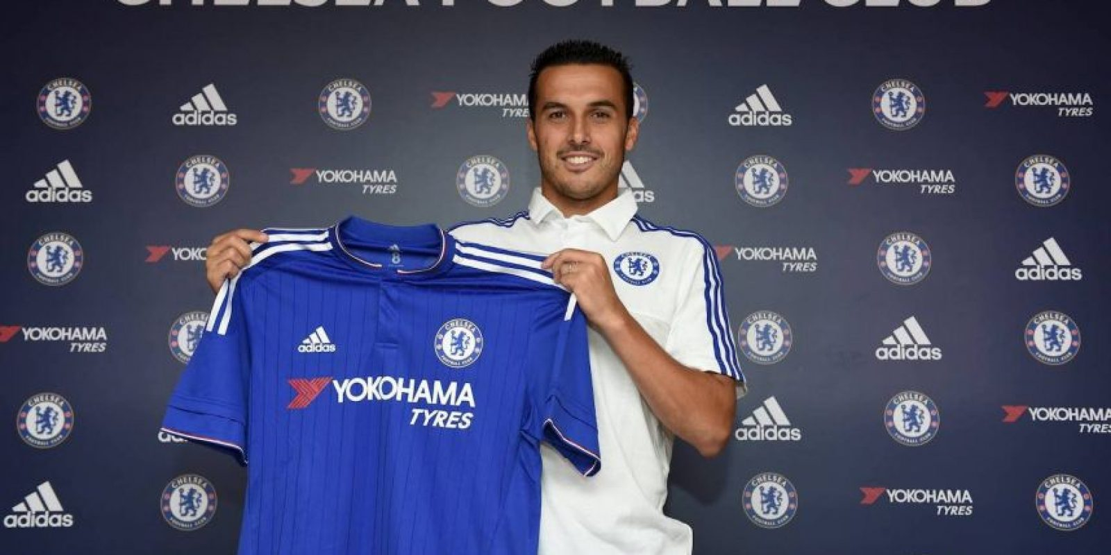 El extremo español es nuevo integrande del Chelsea de José Mourinho. Foto:Vía facebook.com/Chelseafc