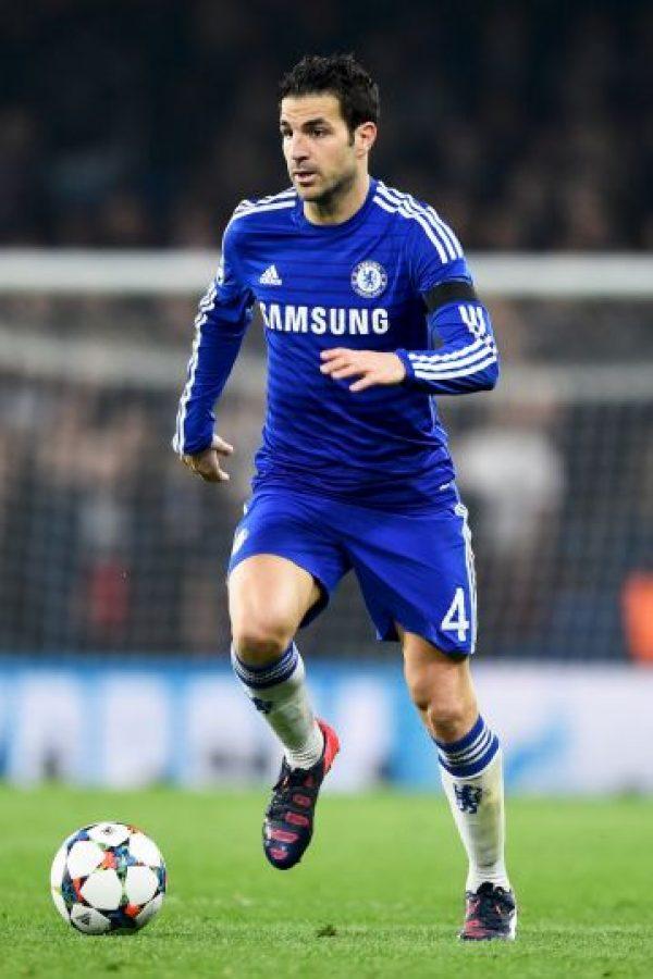 12. Cesc Fábregas @Cesc4official (Futbol/España): 37 mil 29 dólares por tuit. Foto:Getty Images