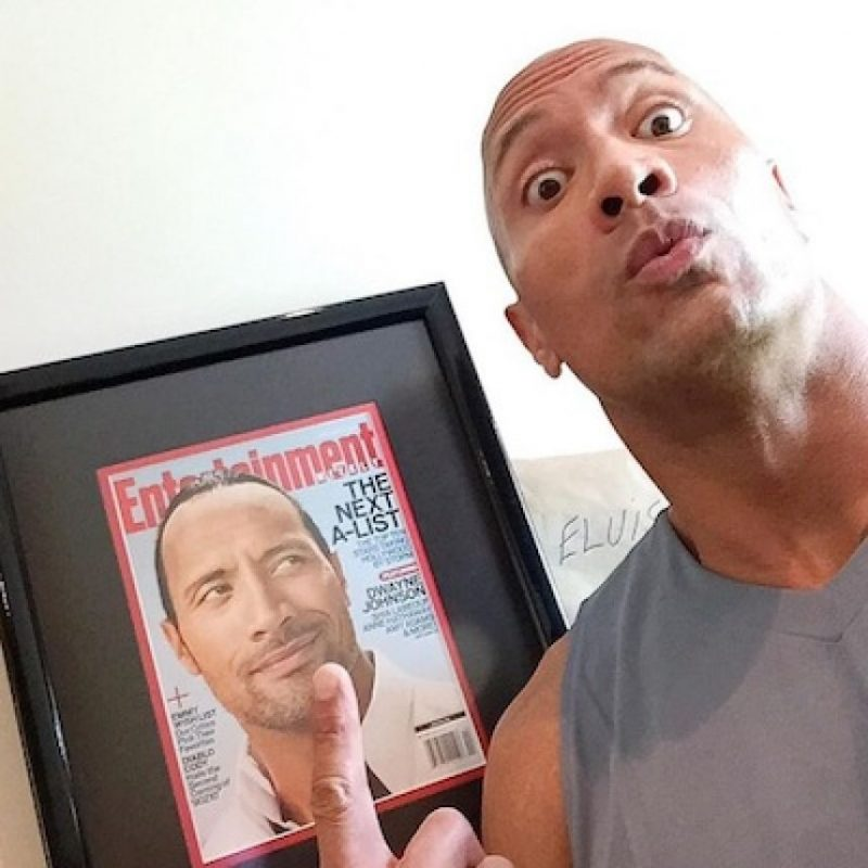 Foto: Instagram/therock