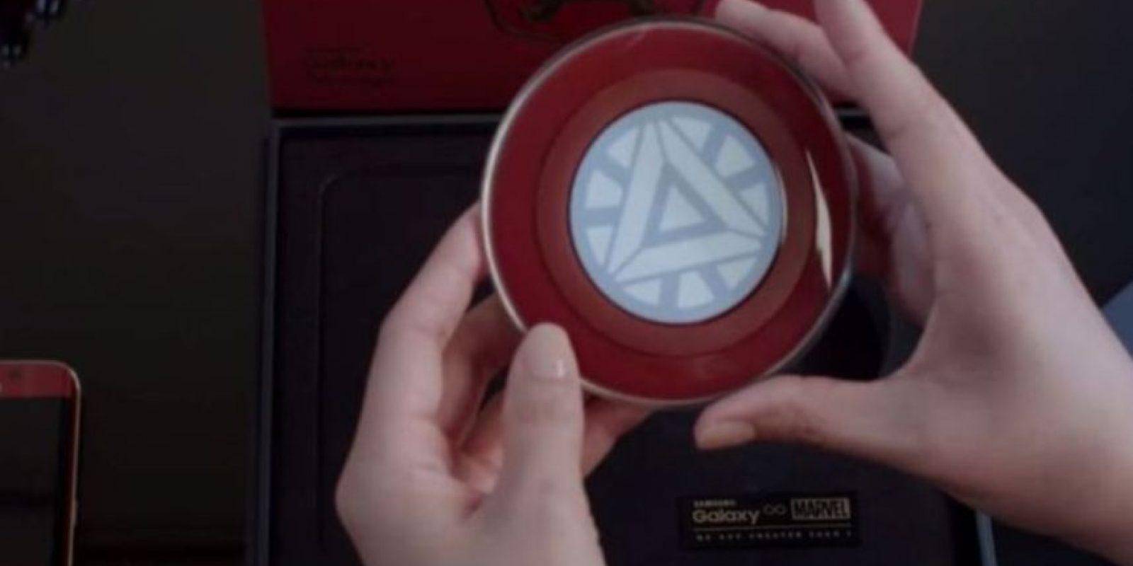 """El """"Reactor Arc"""" es un cargador inalámbrico. Foto:Samsung"""