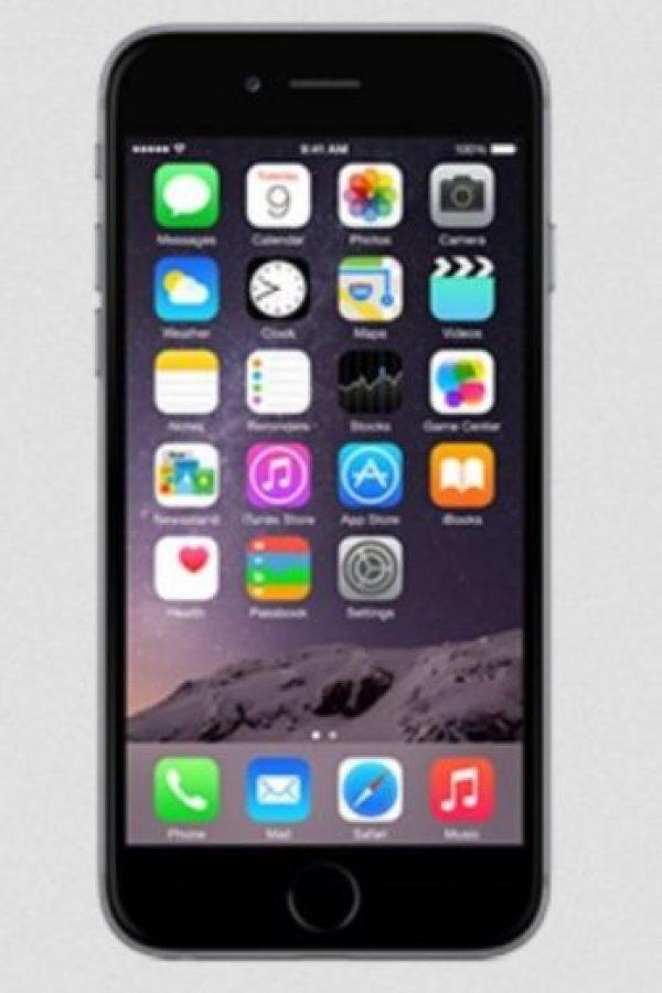 Uno de los smartphones más codiciados, con pantalla de 5.5 pulgadas, procesador A8 de Apple, cámara posterior de 8 megapixeles, frontal de 2.1 megapixeles, iOS 8, y batería de 2.915 mAh. Foto:Apple