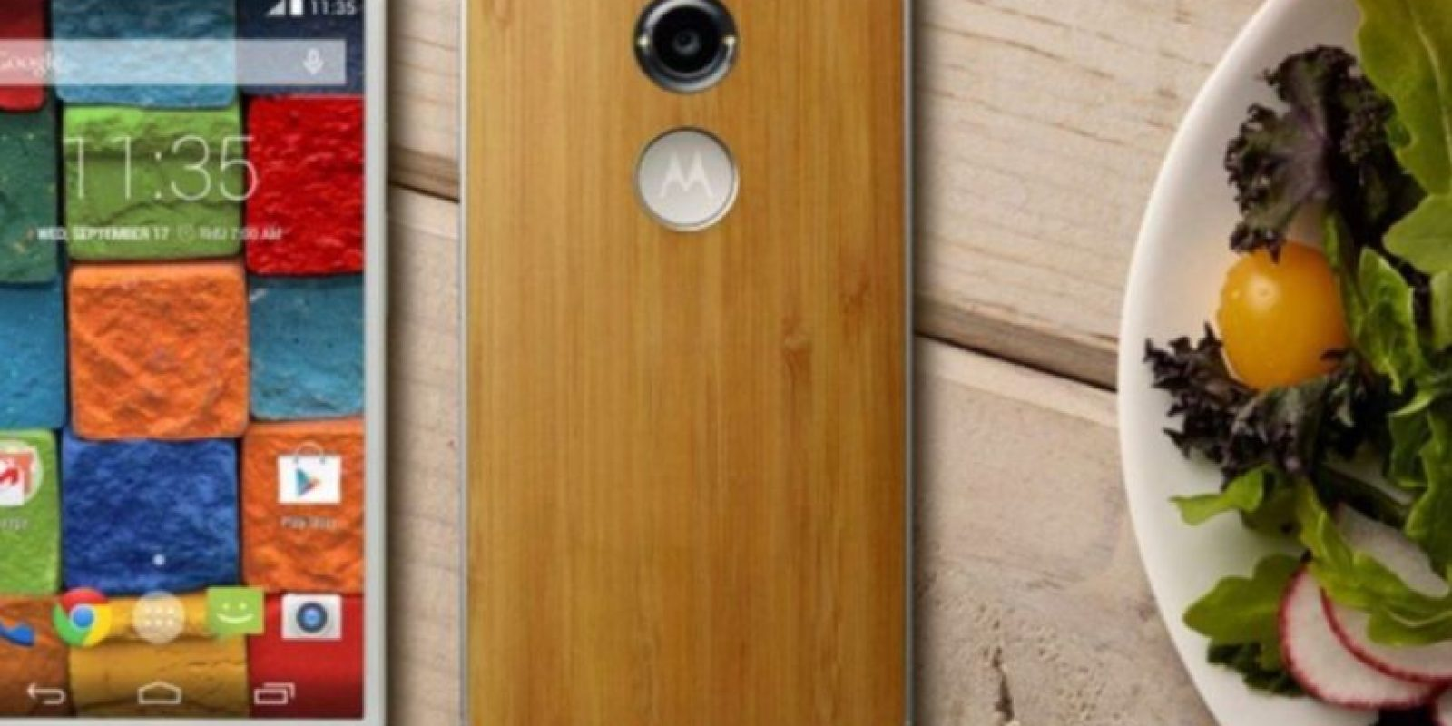 Moto X tiene un precio de salida de 499 dólares. Foto:Motorola