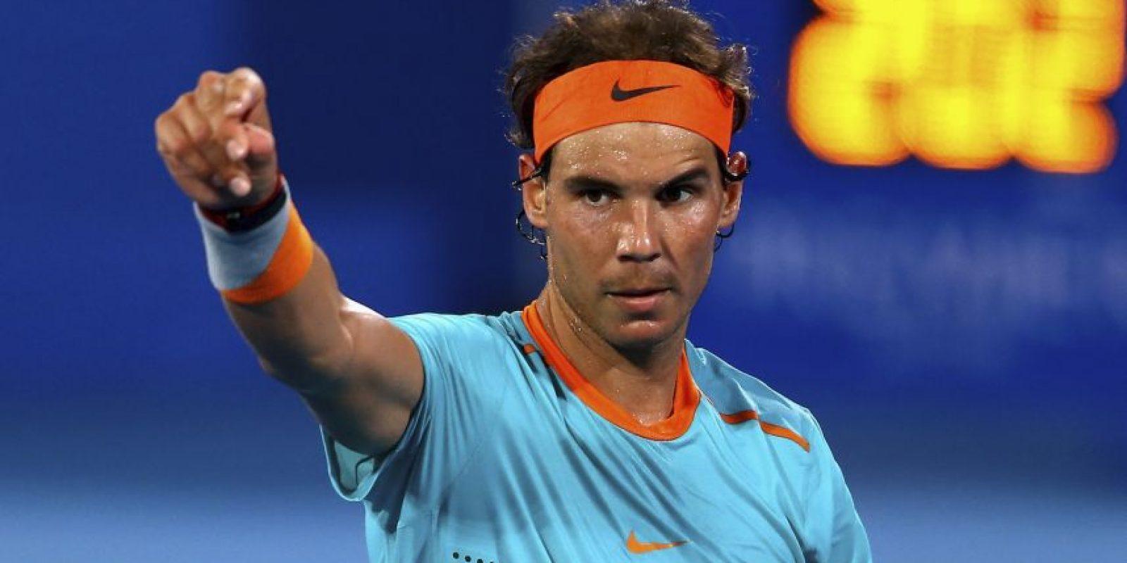 9. Rafael Nadal @RafaelNadal (Tenis/España): 45 mil 280 dólares por tuit. Foto:Getty Images