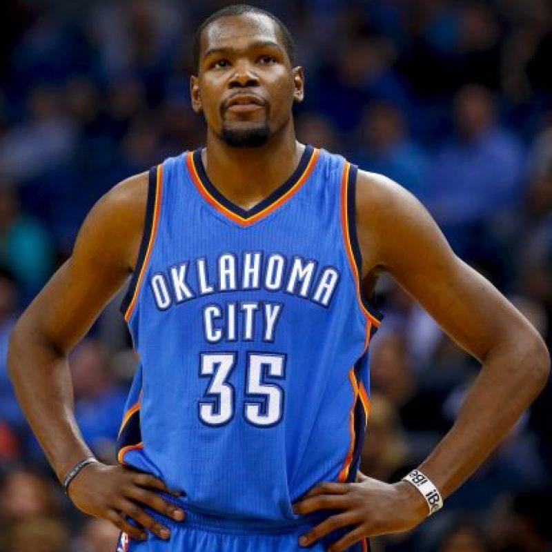 5. Kevin Durant @KDTrey5 (Baloncesto/Estados Unidos): 66 mil 553 dólares por tuit. Foto:Getty Images