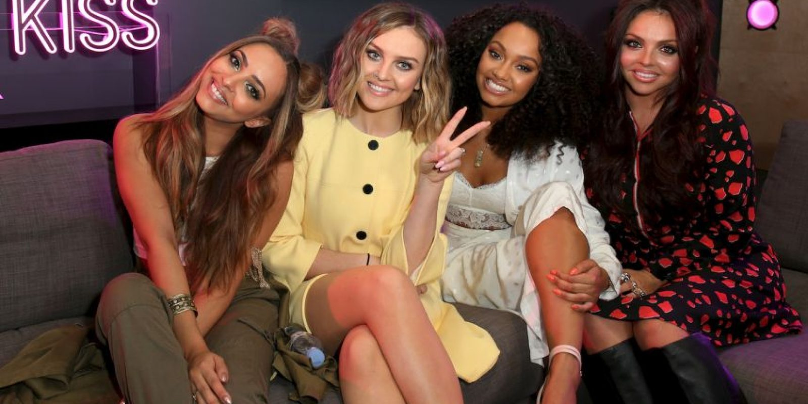 Little Mix está formado por: Leigh-Anne Pinnock, Jesy Nelson, Jade Thirlwall y Perrie Edwards. Foto: Getty Images