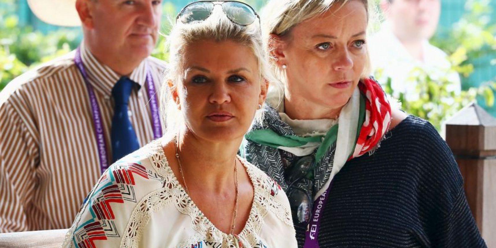 Su esposa Corinna se ha presentado en pocos actos públicos Foto:Getty Images