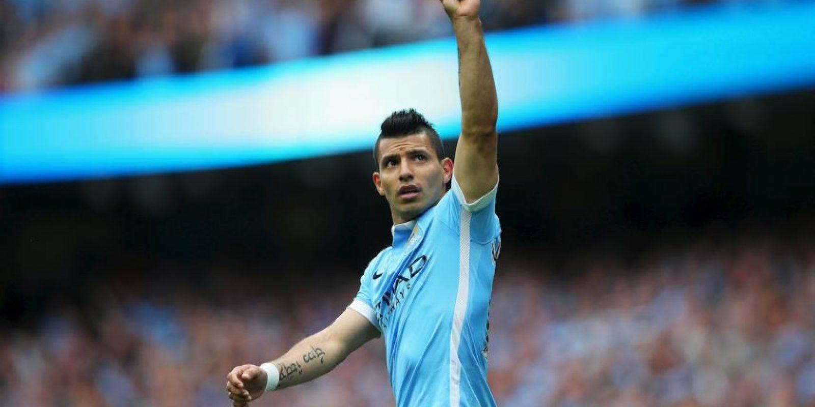 8. Sergio Aguero @aguerosergiokun (Futbol/Agentina): 45 mil 733 dólares por tuit. Foto:Getty Images
