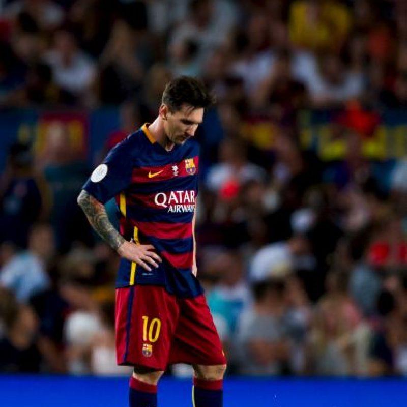 4. Lionel Messi. El mejor futbolista de los últimos años y candidato a ganar su quinto Balón de Oro Foto:Getty Images