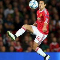 """El """"Chicharito"""" regresó a Manchester United, equipo dueño de su carta. Foto:Getty Images"""