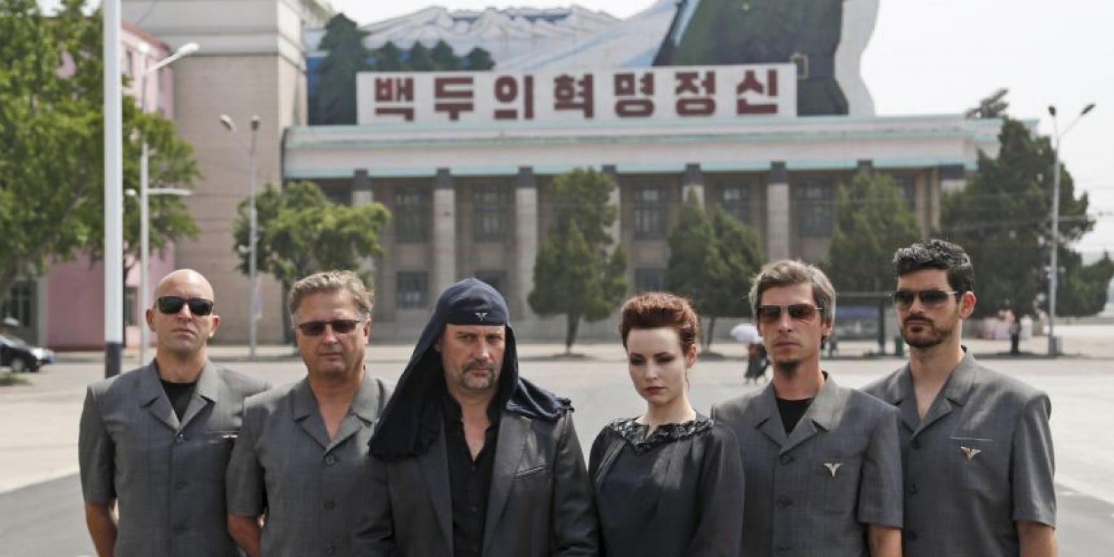 Debido a que sus puestas en escena son homenajes a las dictaduras, se les ha tachado tanto de fascistas como de comunistas. Foto:AP