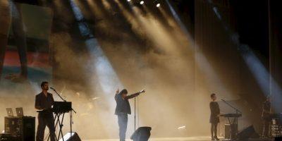 Los integrantes de la banda se muestran entusiasmados frente a la experiencia. Foto:AP