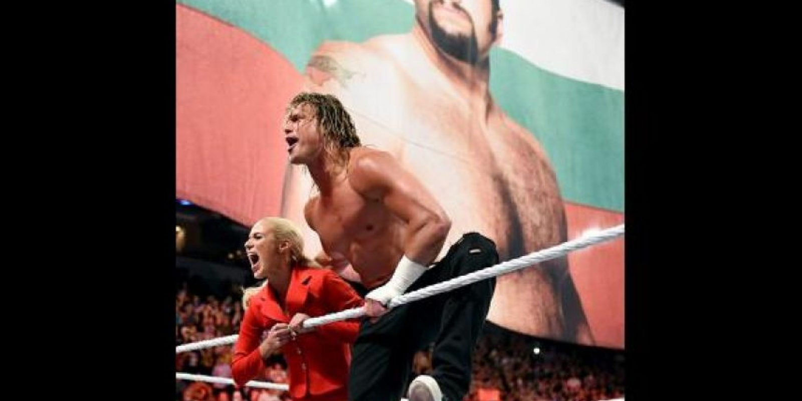 El telón lo abrirá la pelea entre Dolph Ziggler, acompañado por Lana Foto:WWE