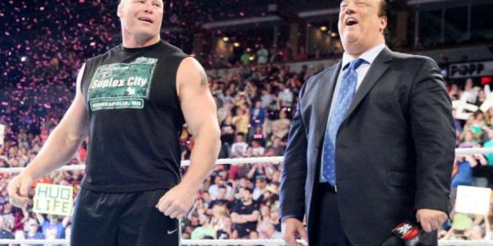 La pelea estelar la protagonizará Brock Lesnar Foto:WWE