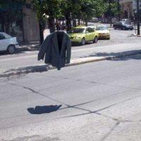 """En verdad existen los fantasmas, """"aquí va uno de ellos"""". Foto:Fotos/humor"""