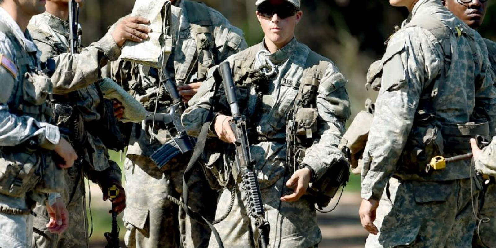 Por su parte, Haver es una piloto de helicóptero Apache de Copperas Cove, Texas Foto:AP