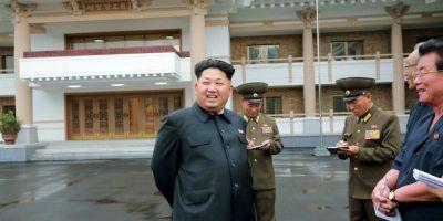 Kim Jong-un, líder de Corea del Norte Foto:AFP