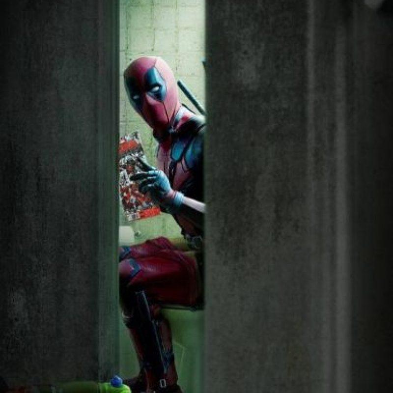 """El irreverente """"Deadpool"""" también recibe el nombre de """"El Mercernario Bocazas"""". Foto:vía facebook.com/deadpool"""