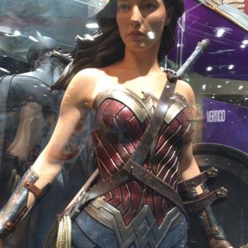 """A """"Wonder Woman"""" la bautizaron como """"Marvila, la mujer maravilla"""". Foto:vía facebook.com/wonderwoman"""