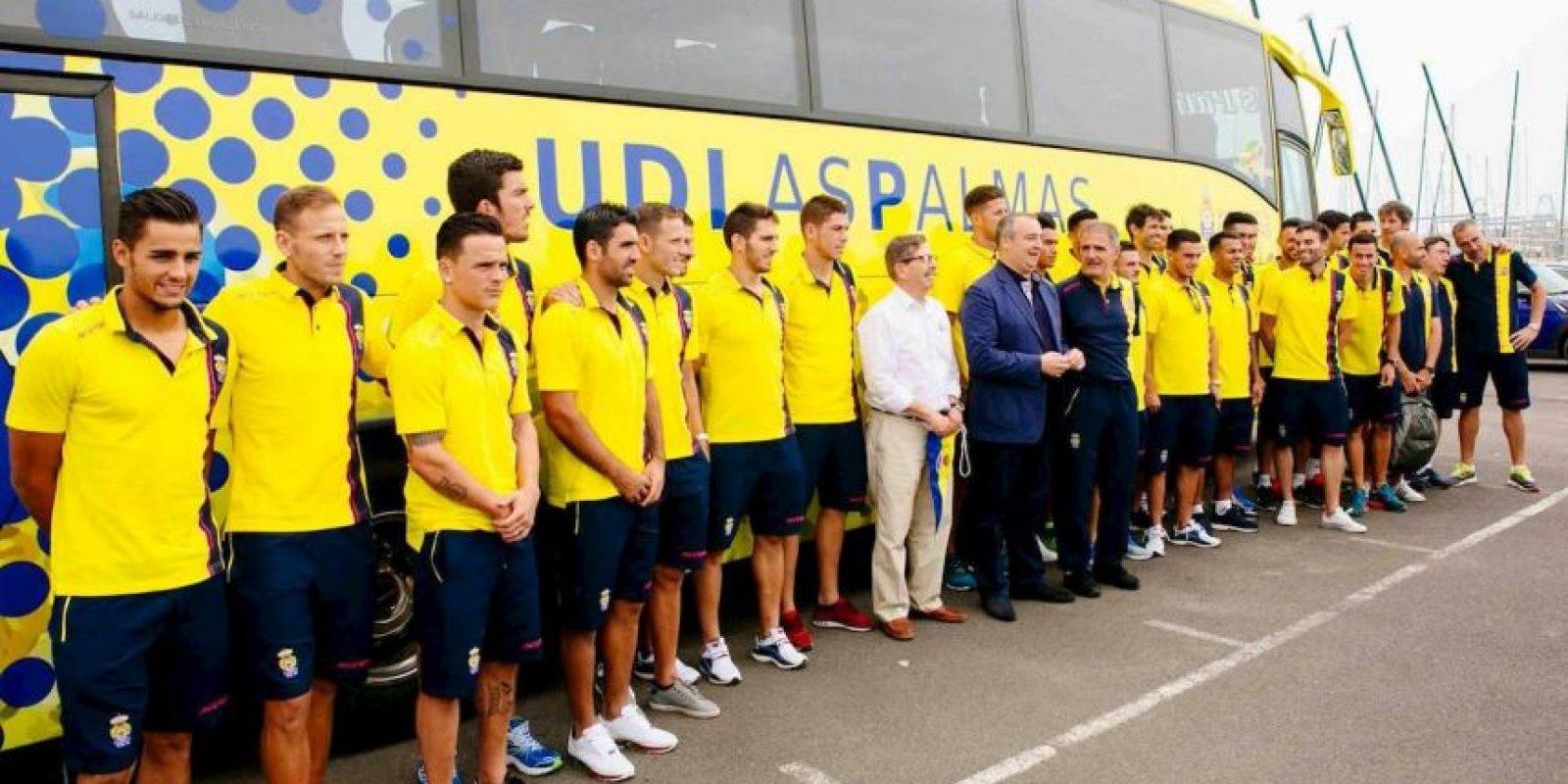 18. UD Las Palmas / Las Palmas de Gran Canaria / DT Paco Herrera / Estadio Gran Canaria. Foto:Vía facebook.com/udlaspalmasoficial