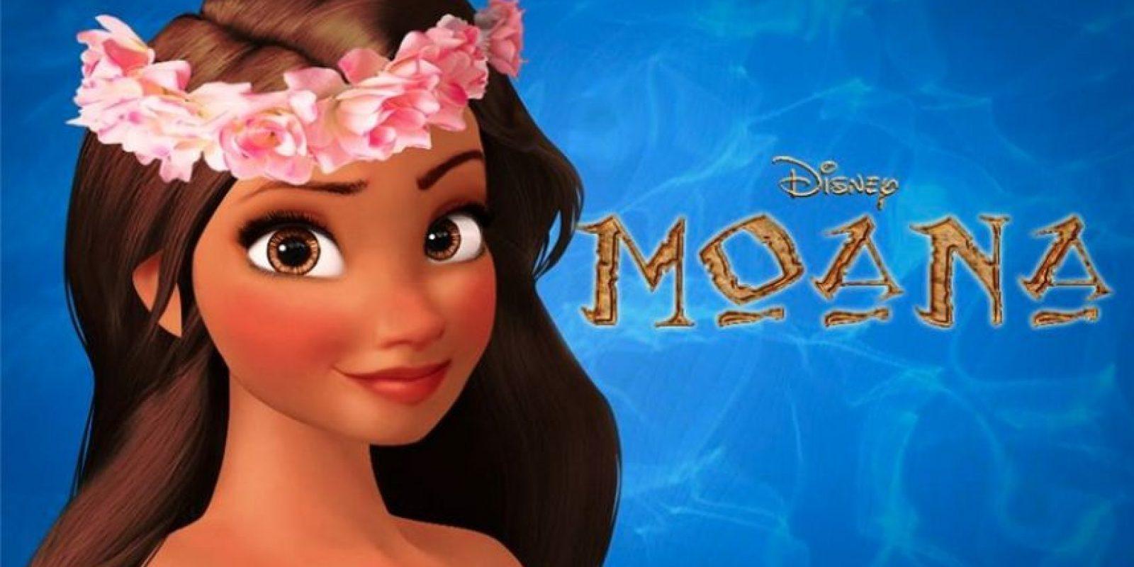 """""""Moana Waialiki"""" es la primera princesa polinesia de Disney Foto:Disney"""