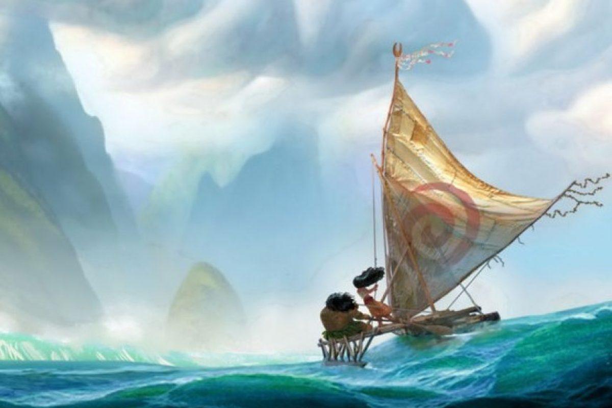 La princesa polinesia se caracterizará por tener un espíritu libre y aventurero Foto:Disney