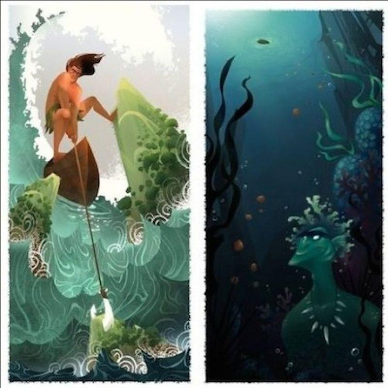 La historia se desarrolla en los paisajes marinos del Pacífico Sur Foto:Disney