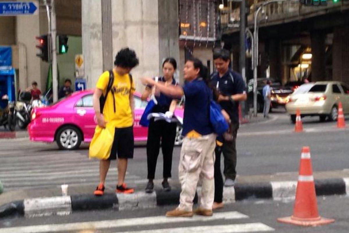 Causó indignación en redes sociales Foto:Twitter.com/BoyOfHeaven