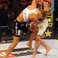 3-0 vs. Sarah D'Alelio en Strikeforce Challengers 18. Foto:Getty Images