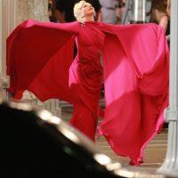 """Este es uno de los vestidos que lucirá la """"diva del pop"""". Foto:Grosby Group"""