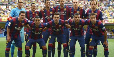 3. FC Barcelona / Barcelona / DT Luis Enrique / Estadio Nou Camp. Foto:Getty Images