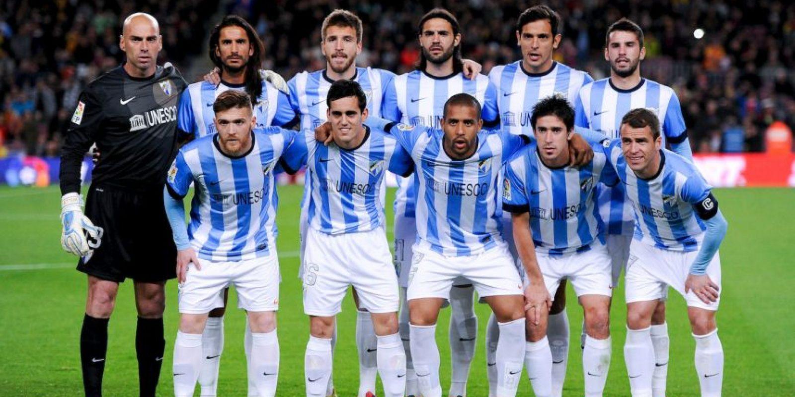 7. Málaga CF / Málaga / DT Javi Gracia / Estadio La Rosaleda. Foto:Getty Images