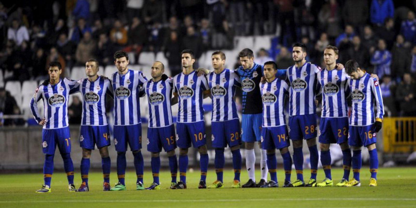 11. Deportivo La Coruña / La Coruña / DT Víctor Sánchez del Amo / Estadio Riazor. Foto:Getty Images