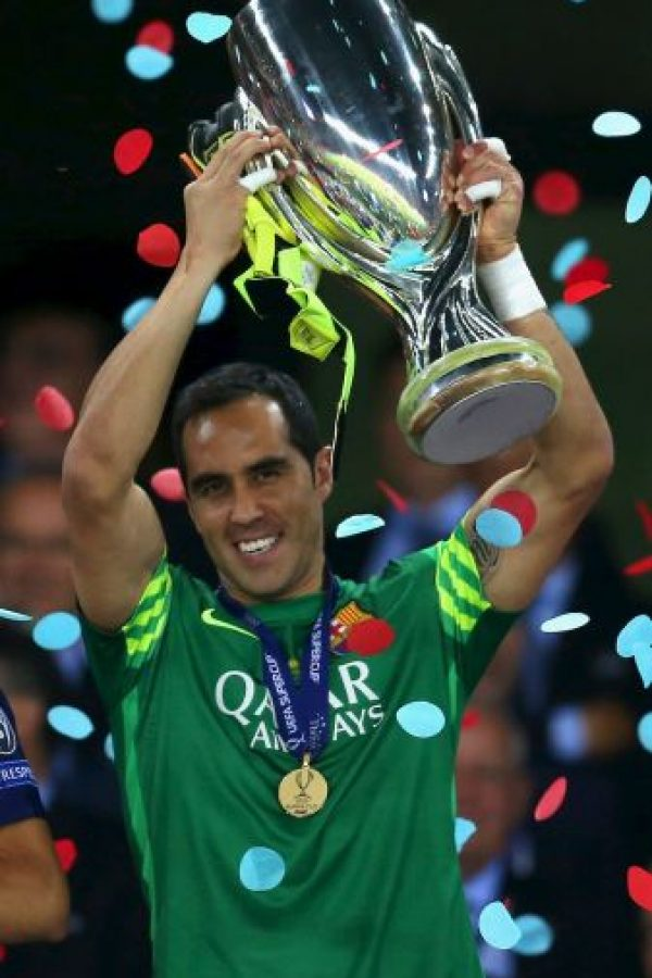PORTERO: Claudio Bravo (Barcelona/Chile) Foto: Getty Images