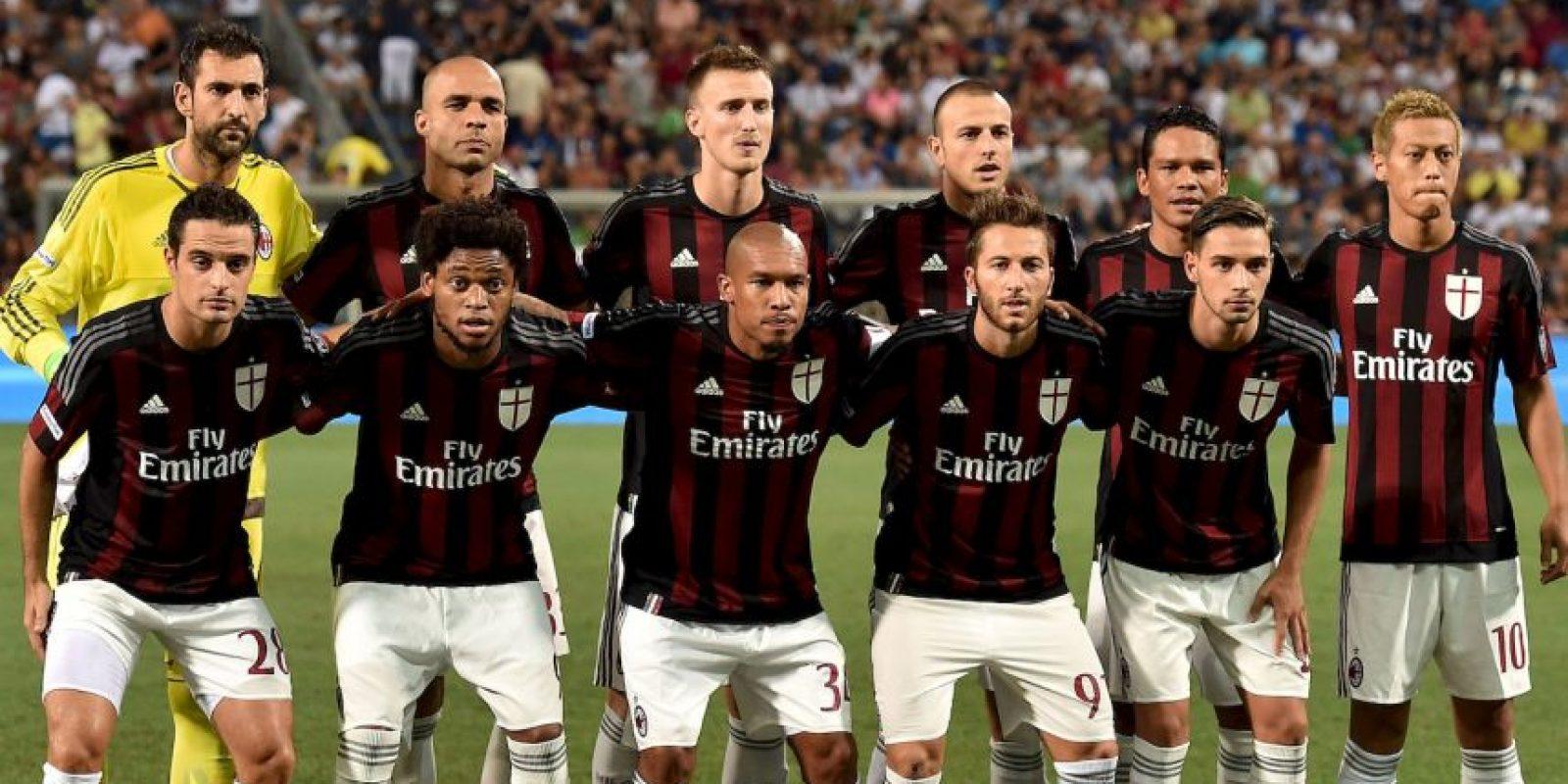 AC Milán (10º en 2014/2015) Foto:Getty Images