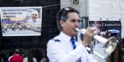 Fotos: Así fue el exótico funeral de un capo de la mafia en Italia