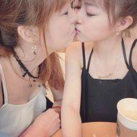 Miren cómo se besan. Foto:Vía Instagram/@pppig