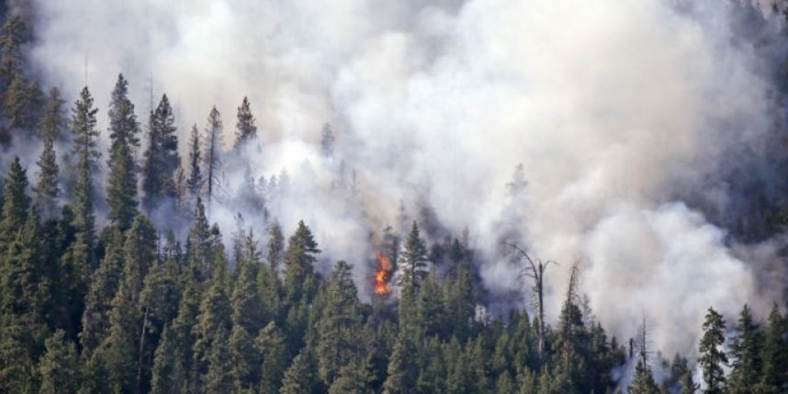 Los servicios de emergencia del estado de Washington han extendido este viernes las órdenes de evacuación. Foto:AP