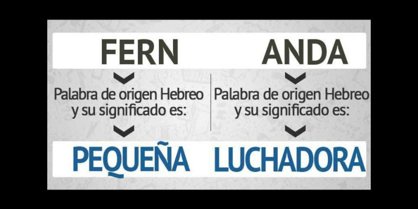 """Y """"Fernanda"""", lo mismo. Foto:eWikin.com"""