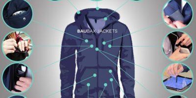 FOTOS: BauBax, la chaqueta inteligente para todos sus viajes