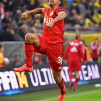 7. Karim Bellarabi (9 segundos) / Bayer Leverkusen vs. Borussia Dortmund 2014. Foto:Getty Images