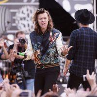 Harry Styles agregó una nueva caída a su lista de accidentes. Foto:Getty Images