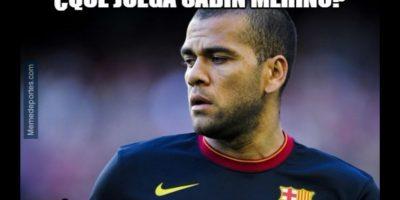 De las lesiones que sufrió el Barça en el partido. Foto:memedeportes.com