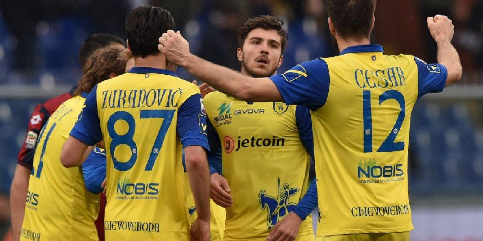 Equipo más viejo: Chievo Verona (28.3 años) Foto:Getty Images