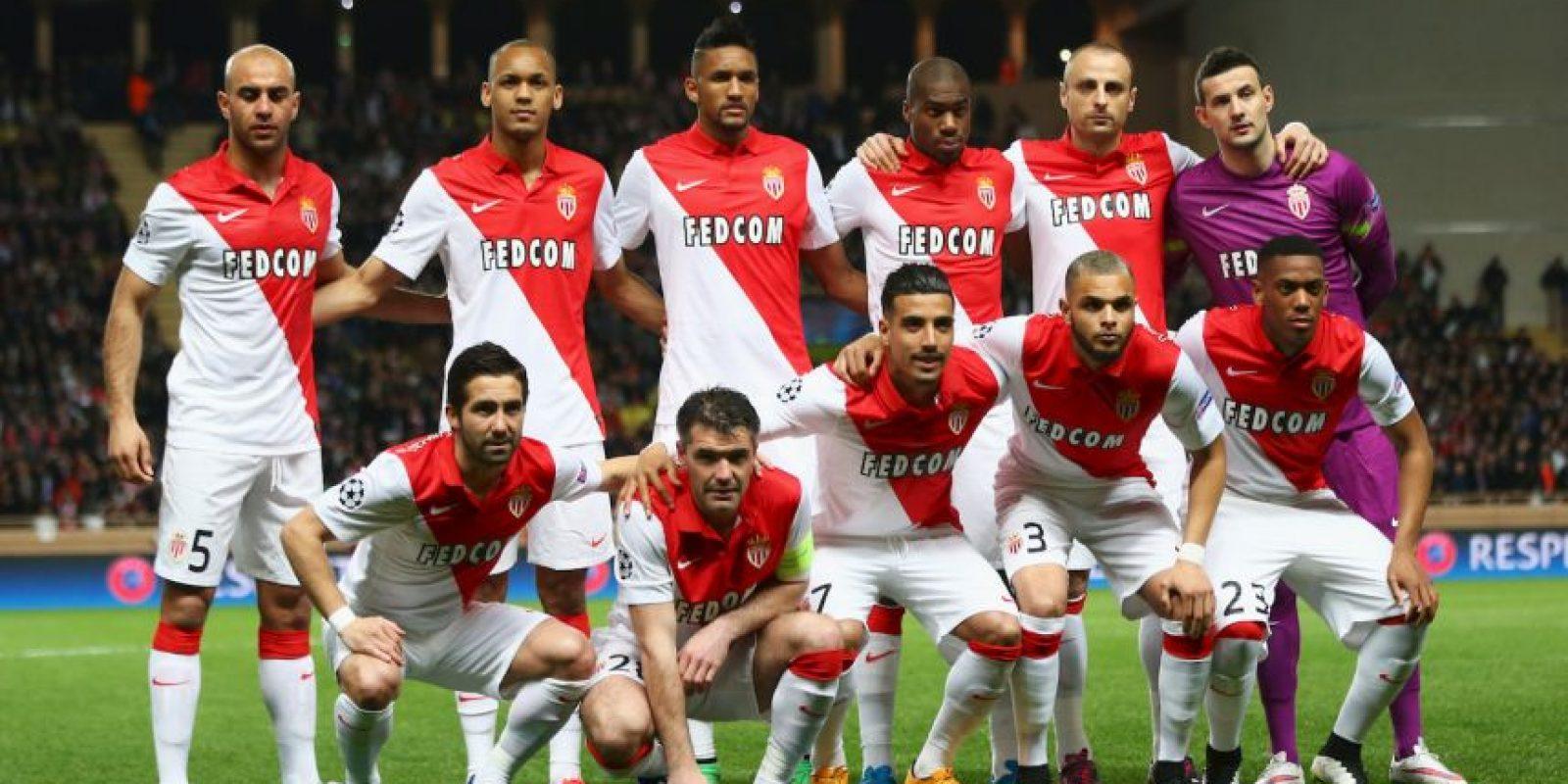 Equipo más joven: AS Mónaco (23.5 años) Foto:Getty Images