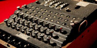 5. Máquina enigma. Foto:Getty Images