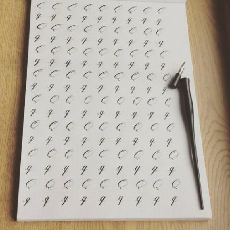 Es el que usaba el legendario político y militar romano Julio César para comunicarse con sus generales durante la Guerra de las Galias. Foto:Vía instagram.com/explore/tags/alphabet