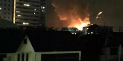 Se registran explosiones en base militar de Estados Unidos en Japón