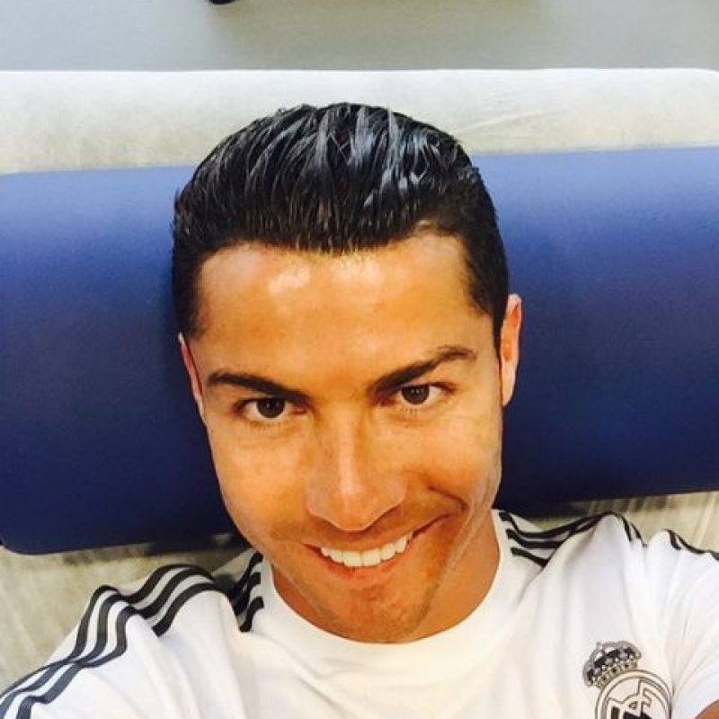 """Durante el duelo, Cristiano fue derribado en el área, los """"merengues"""" pidieron penal, pero no se marcó. Foto:Vía instagram.com/Cristiano"""