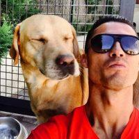 """""""Tu amor me hace más fuerte, tu odio imparable"""". Foto:Vía instagram.com/Cristiano"""